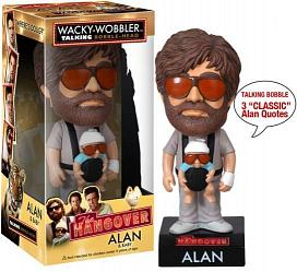 Alan with Baby Talking Wacky Wobbler