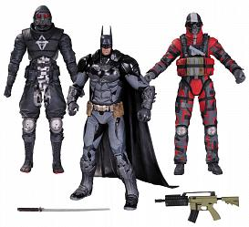 Batman Arkham Knight Actionfiguren 3er-Pack Batman & Thugs 17 cm