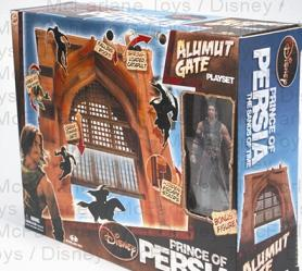 Prince of Persia The Movie Alamut City Gate Playset
