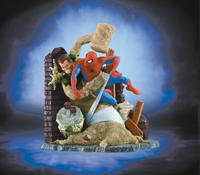Spider-Man vs The Sandman Statue