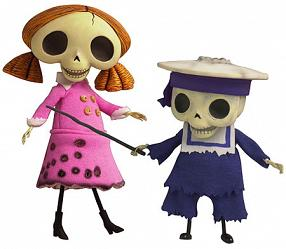 Corpse Bride - Skeleton Boy & Girl Doll Set (15cm)
