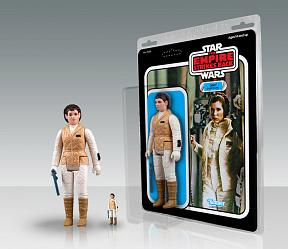 Star Wars Jumbo Vintage Kenner Actionfigur Leia (Hoth Outfit) 30