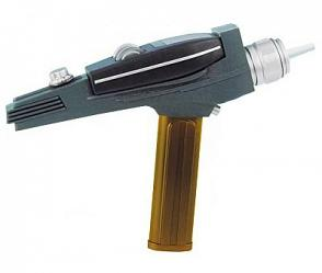 Star Trek TOS Replik 1/1 Gold Handle Phaser EE Exclusive