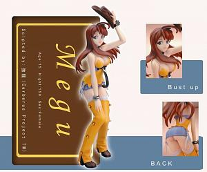 CREATOR'S LABO : BURST ANGEL - Meg PVC Statue (Yamato Version
