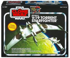Star Wars Vintage Collection Class II Republic V-19 Torrent Star