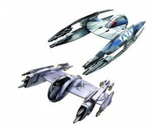 Clone Wars Magna Guard Fighter