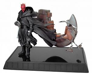 Star Wars Darth Maul & Bloodfin Statue 7""