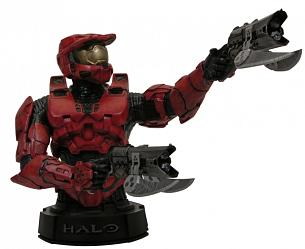 Halo 3 Master Chief Mini Bust (Red)