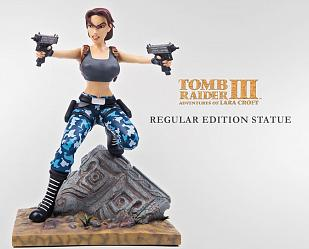 The Tomb Raider III: Adventures of Lara Croft 1:6 Scale Statue