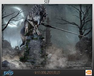 Dark Souls: Sif The Great Grey Wolf