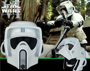 Star Wars: Scout Trooper Helmet 1:1 replica