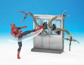 SPIN & KICK SPIDER-MAN