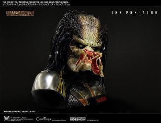 The Predator: Fugitive Predator Prop Replica - Life Sized Bust