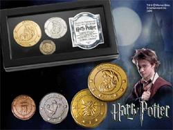 Harry Potter - The Gringotts Bank Coin Collection 3er Set