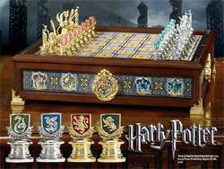 Harry Potter - Hogwarts Houses Quidditch Chess / Schach