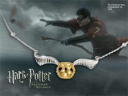 Harry Potter - The Quidditch Golden Snitch Necklace