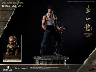 Bruce Lee:Tribute 1:4 Scale Statue