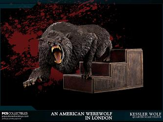 An American Werewolf in London: Kessler Wolf 1:4 Scale Statue