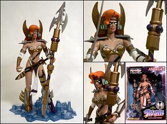 "ANGELA 12"" Action Figure SPAWN SUPERSIZE Series McFarlane Toys"