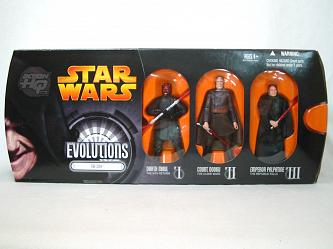 Evolution 3er Pack Wave III