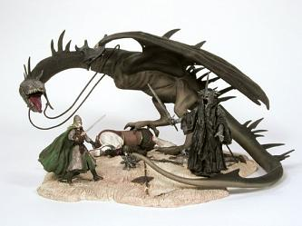 Pelenor Field with Winged Nazgul