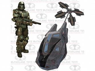 Halo: Universe ODST Drop Pod Deluxe Box Set