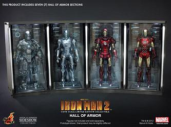 Iron Man 2 Dioramen Set 1/6 Hall of Armor 34 cm (7)
