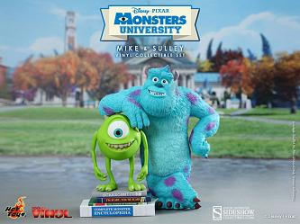 Die Monster Uni Movie Masterpiece Vinylfiguren-Doppelpack Mike &