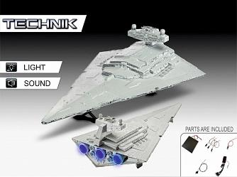 Star Wars: Imperial Star Destroyer Electronic - 1:2700 Scale Mod