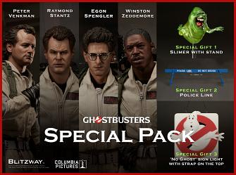 Ghostbusters: Special Pack - Set of 4 Premium 1:6 Scale Action F