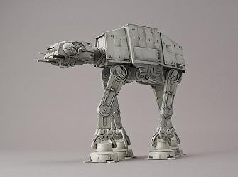 Star Wars: AT-AT - 1:144 Scale Model Kit