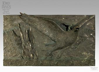 LOTR FIGHT FROM ISENGARD BRONZE PLAQUE