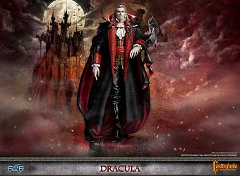 Castlevania: Symphony of the Night - Dracula Statue