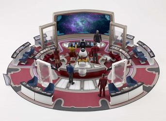 Star Trek 2009 Bridge + Figure Playset