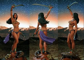 Women of Dynamite: Dejah Thoris Statue