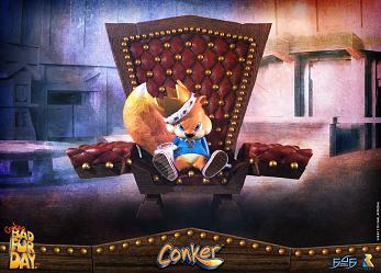 Conker's Bad Fur Day: Conker Statue