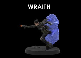 Apex Legends: Figures of Fandom - Wraith 9 inch PVC Statue