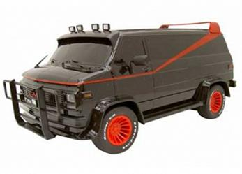 A-Team Van RC Scale 1:24