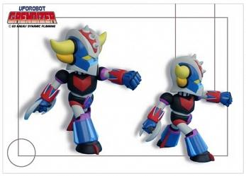 Grendizer Baby Super Deformed 16 cm
