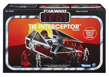 Star Wars Vintage Collection Fahrzeug TIE Interceptor Exclusive