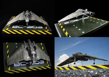 Stargate SG-1 - F-302 Fighter-Interceptor Replica