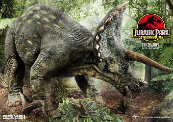 Jurassic Park: Triceratops 1:15 Scale Statue