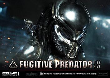 The Predator 2018: Fugitive Predator - Life Size scale Bust