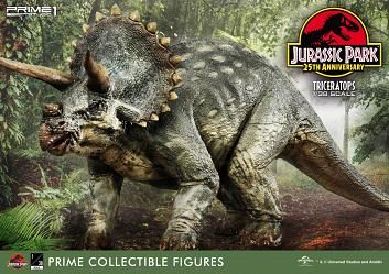 Jurassic Park: Triceratops 1:38 Scale PVC Statue