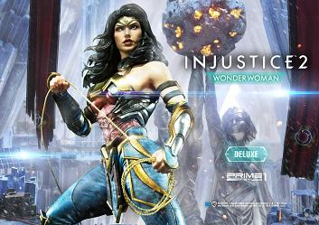 DC Comics: Injustice 2 - Deluxe Wonder Woman 1:4 Scale Statue