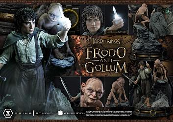 Lord of the Rings: The Return of the King - Frodo and Gollum Bon