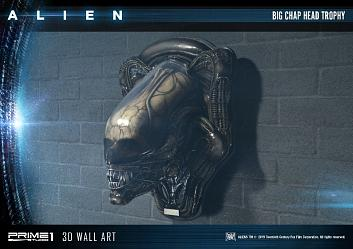 Alien: Alien Big Chap Head Trophy - 3D Wall Art Sculpture