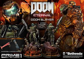 Doom Eternal: Deluxe Doom Slayer 43 inch Statue