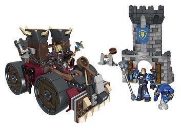 World of Warcraft Mega Bloks Bauset Demolisher Attack