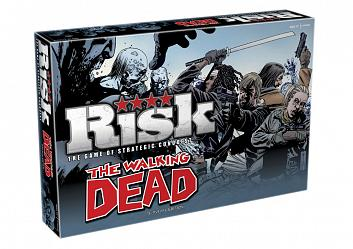 The Walking Dead Brettspiel Risiko *Englische Version*